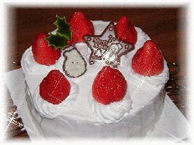 mamakissの☆クリスマスケーキ in 2002☆