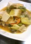厚揚げとたっぷりお野菜のピリ辛中華煮☆
