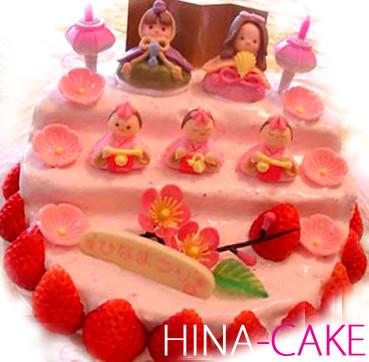ひな祭り☆ひな壇イチゴショートケーキ☆