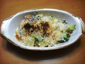 高野豆腐の豆乳グラタン