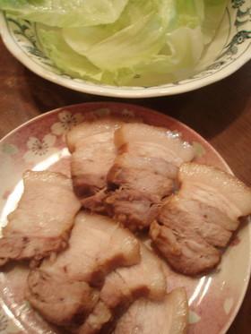 タレが美味しい♪ チャーシュー風煮豚