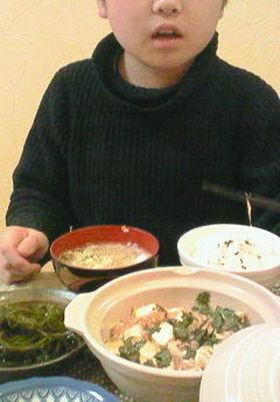 マーボー豆腐ととろとろたまごスープ