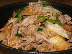 野菜たっぷり☆豚キムチ~♪