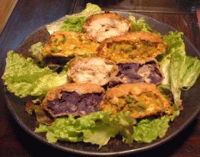 3色コロッケ(ジャガイモ・かぼちゃ・紫芋)
