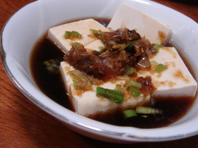 濃い目のタレで◇我が家の湯豆腐◇