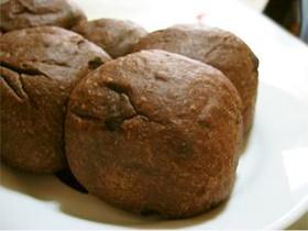 チョコ×チョコチップのちぎりパン
