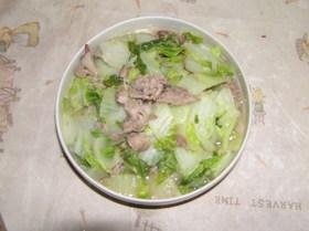 【簡単】白菜&豚肉の炒め煮