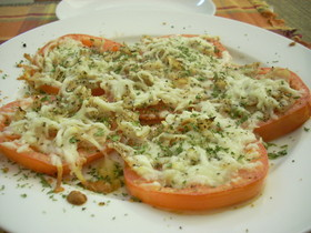 Baked cheese&tomato