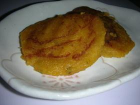 カボチャの米粉餅
