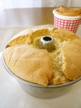 ダイソー12cm型♡紅茶のシフォンケーキ