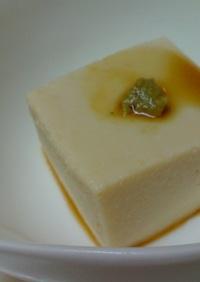 母直伝!激ウマ・ピーナッツ豆腐❤