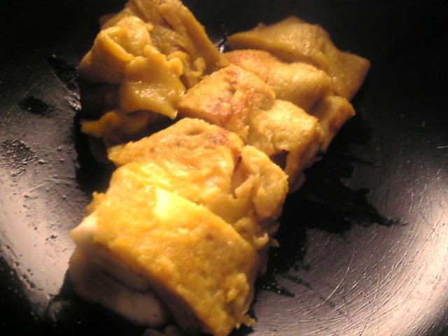 マシュマロ入り卵焼き