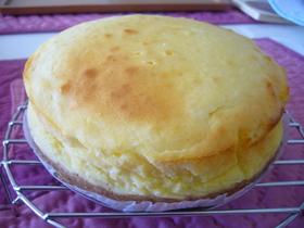 ホワイトチョコ☆チーズケーキ