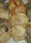 信州の味 なす、ねぎ、野沢菜の3色おやき