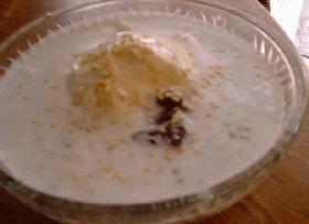 タピオカ&ココナッツミルクのうさかな風