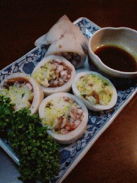 イカ酢飯(イカすめし)