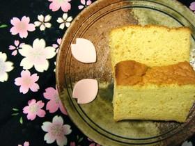 米粉で簡単!しっとりカステラ❤黒糖編