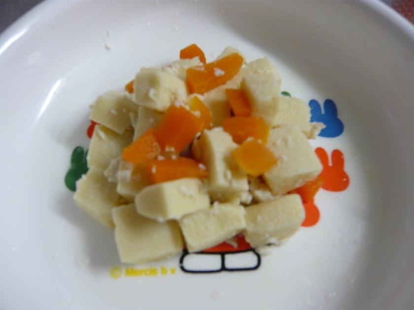 高野豆腐の煮物(離乳食/手づかみ用)