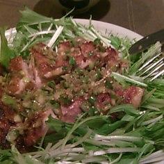 肉汁じゅわ~!鶏の葱塩ダレ焼き
