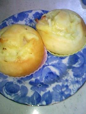 もちもち☆オニオンハムチーズパン