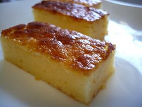 ノンオイル☆粉チーズのしっとりケーキ♪