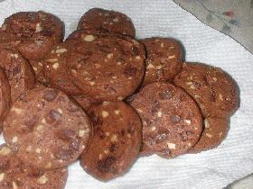 さっくさくチョコくるクッキー