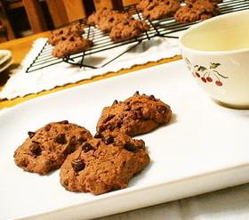 *バレンタイン*チョコチップクッキー*
