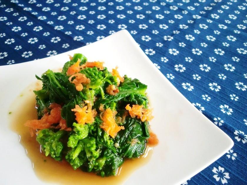 ✽菜の花の粒マスタードしょう油和え✽