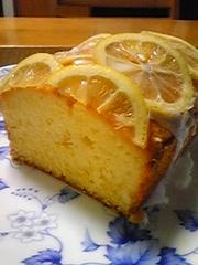 レモンの風味たっぷり♪レモンケーキの写真