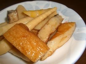 ポクポクおいしい、細竹の煮物