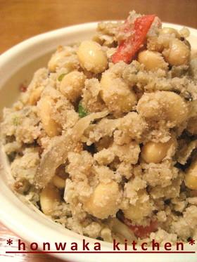 大豆入り♪❀私の卯の花❀(炒りおから)
