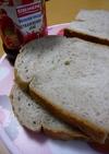ミルメークとジャムのいちご食パン