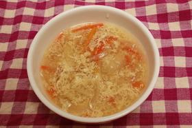 野菜とたまごのコンソメスープ