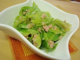 お酢で簡単☆キャベツとツナのサラダ
