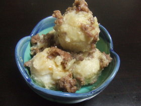 簡単♪ 里芋の味噌バター風味