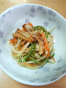 炒めちくわと野菜のマリネ