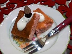 ベリーベイクドチーズケーキ♪