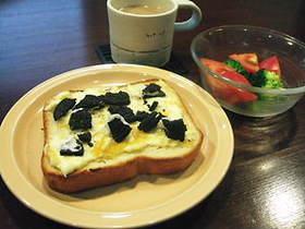 オレオレ☆チーズトースト