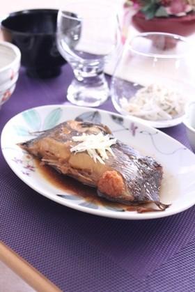 覚書☆我が家の煮魚