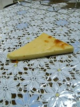 トースターで!チーズケーキ