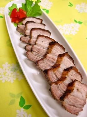 豚バラ肉のオーブン焼き
