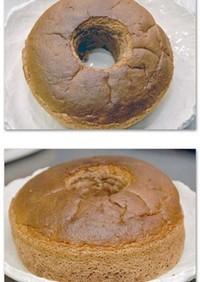HCミックスでふわふわシフォンケーキ
