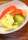 いろどり野菜のカレー風味ピクルス