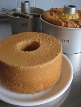 基本*プレーンシフォンケーキ