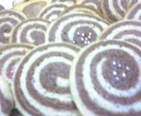 ホットケーキミックスDE渦巻きクッキー