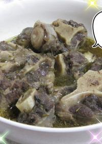 ナイジェリア料理★ペペスープ(牛テール)