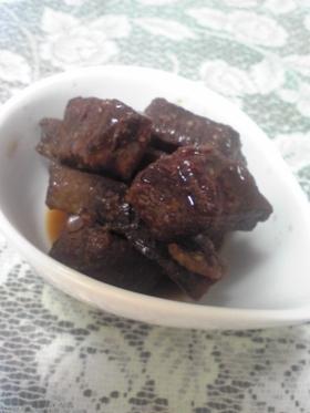 マグロのアラの甘辛煮 ちょっと韓国風?
