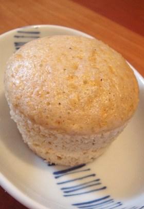 オートミールシナモン蒸しパン