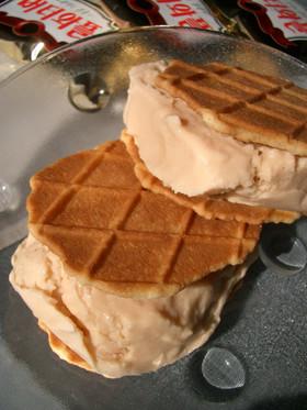 キャラメルアイスクリームサンドin韓国