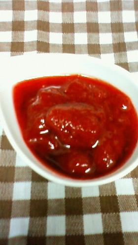 レンジにおまかせ✿苺のソースorジャム